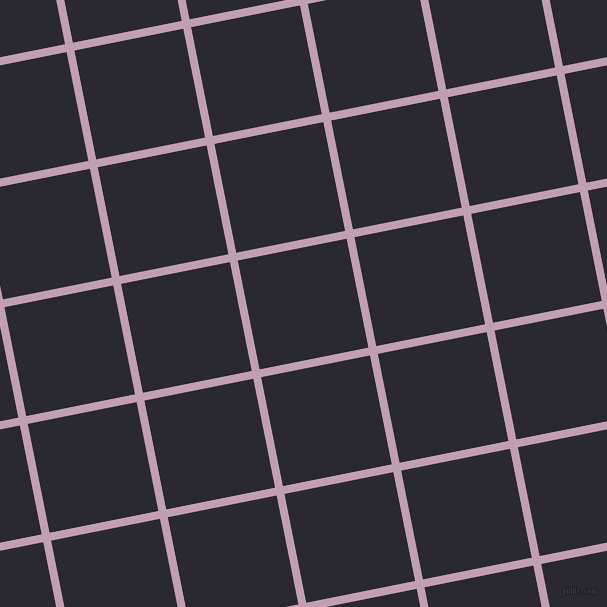11/101 degree angle diagonal checkered chequered lines, 8 pixel line width, 111 pixel square size, Lily and Jaguar plaid checkered seamless tileable