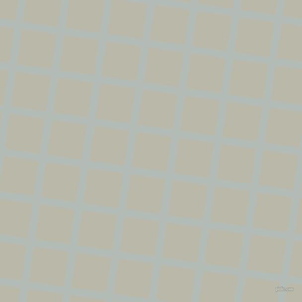 82/172 degree angle diagonal checkered chequered lines, 15 pixel line width, 71 pixel square size, Loblolly and Mist Grey plaid checkered seamless tileable