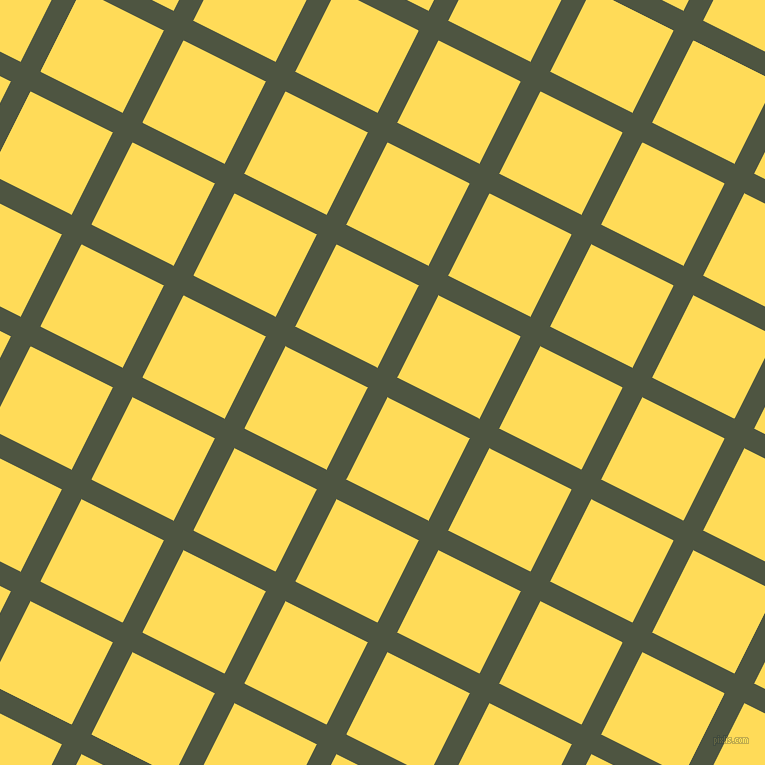 63/153 degree angle diagonal checkered chequered lines, 22 pixel line width, 92 pixel square size, Lunar Green and Mustard plaid checkered seamless tileable