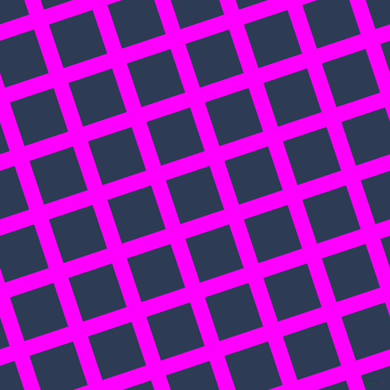 18/108 degree angle diagonal checkered chequered lines, 32 pixel line width, 94 pixel square size, Magenta and Madison plaid checkered seamless tileable