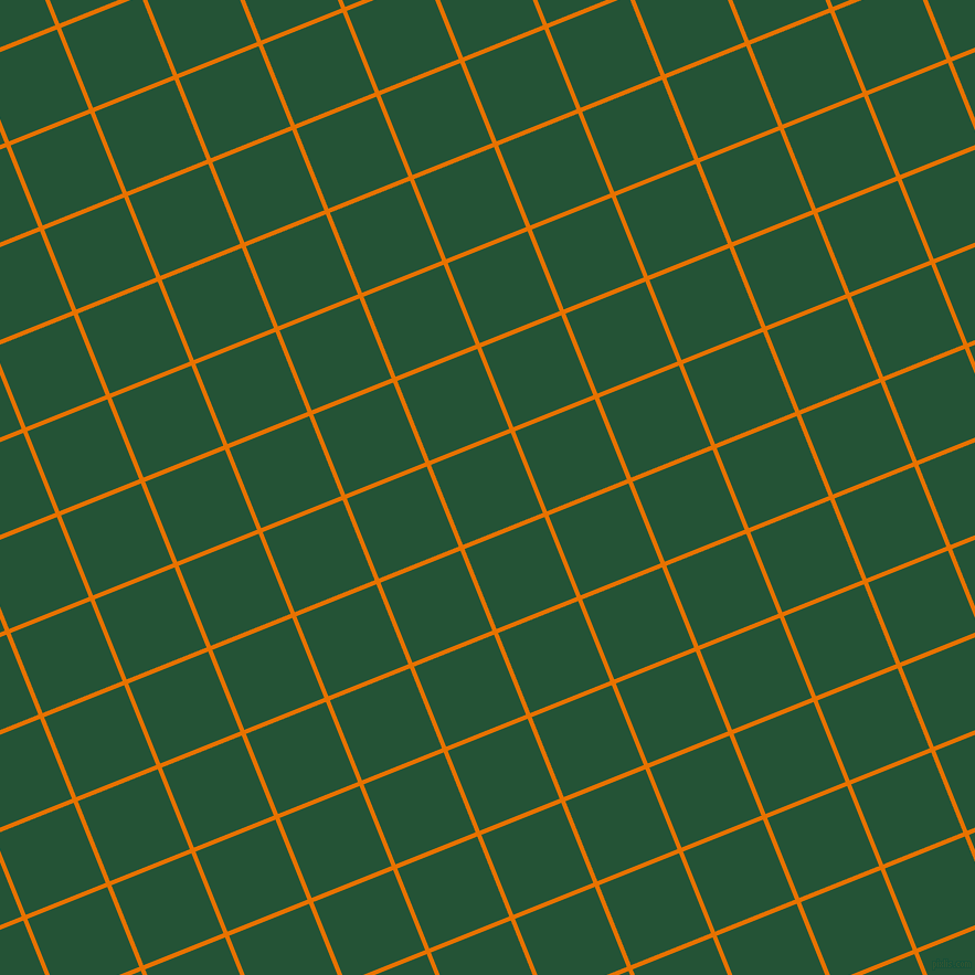 22/112 degree angle diagonal checkered chequered lines, 4 pixel lines width, 78 pixel square size, Mango Tango and Kaitoke Green plaid checkered seamless tileable