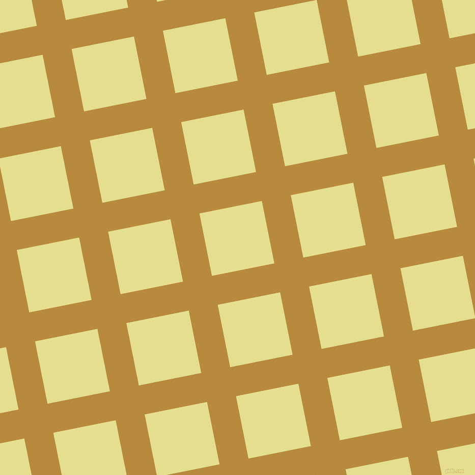11/101 degree angle diagonal checkered chequered lines, 58 pixel line width, 125 pixel square size, Marigold and Primrose plaid checkered seamless tileable
