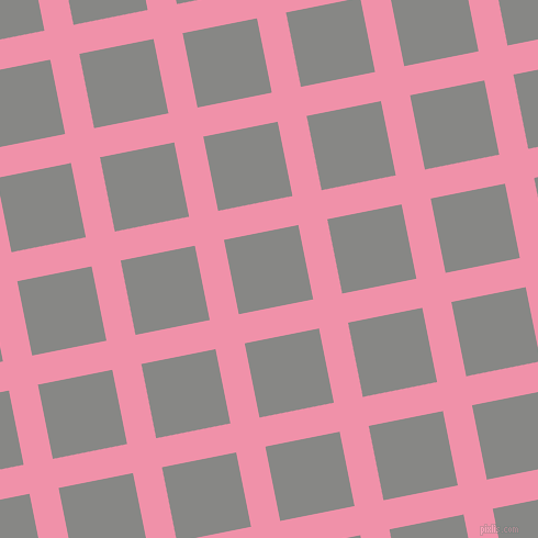 11/101 degree angle diagonal checkered chequered lines, 27 pixel line width, 69 pixel square size, Mauvelous and Jumbo plaid checkered seamless tileable