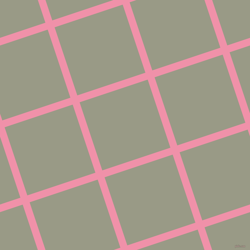 18/108 degree angle diagonal checkered chequered lines, 25 pixel lines width, 246 pixel square size, Mauvelous and Lemon Grass plaid checkered seamless tileable