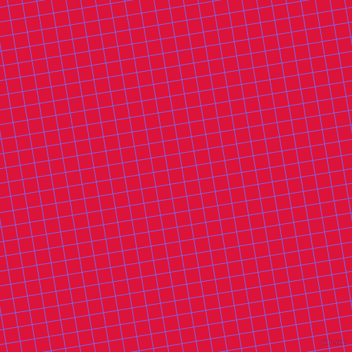 9/99 degree angle diagonal checkered chequered lines, 1 pixel lines width, 20 pixel square size, Medium Slate Blue and Crimson plaid checkered seamless tileable