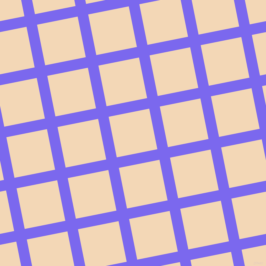 11/101 degree angle diagonal checkered chequered lines, 41 pixel line width, 158 pixel square size, Medium Slate Blue and Pink Lady plaid checkered seamless tileable