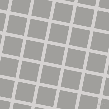 79/169 degree angle diagonal checkered chequered lines, 14 pixel lines width, 76 pixel square size, Mercury and Mountain Mist plaid checkered seamless tileable