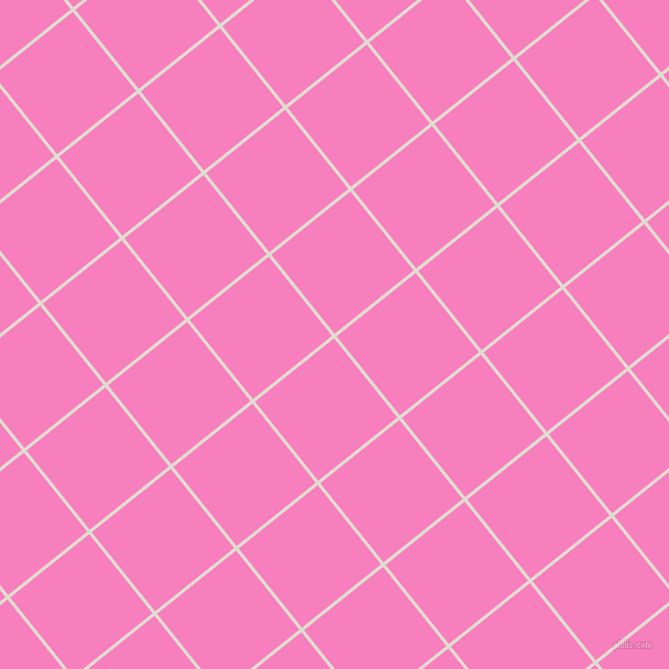 39/129 degree angle diagonal checkered chequered lines, 3 pixel line width, 92 pixel square size, Merino and Persian Pink plaid checkered seamless tileable