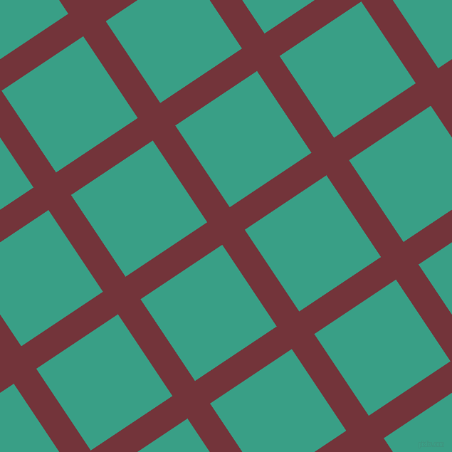 34/124 degree angle diagonal checkered chequered lines, 38 pixel line width, 138 pixel square size, Merlot and Gossamer plaid checkered seamless tileable