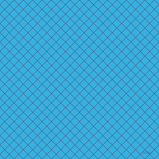 45/135 degree angle diagonal checkered chequered lines, 1 pixel lines width, 22 pixel square size, Meteorite and Summer Sky plaid checkered seamless tileable