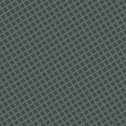 31/121 degree angle diagonal checkered chequered lines, 5 pixel lines width, 14 pixel square size, Mid Grey and Corduroy plaid checkered seamless tileable