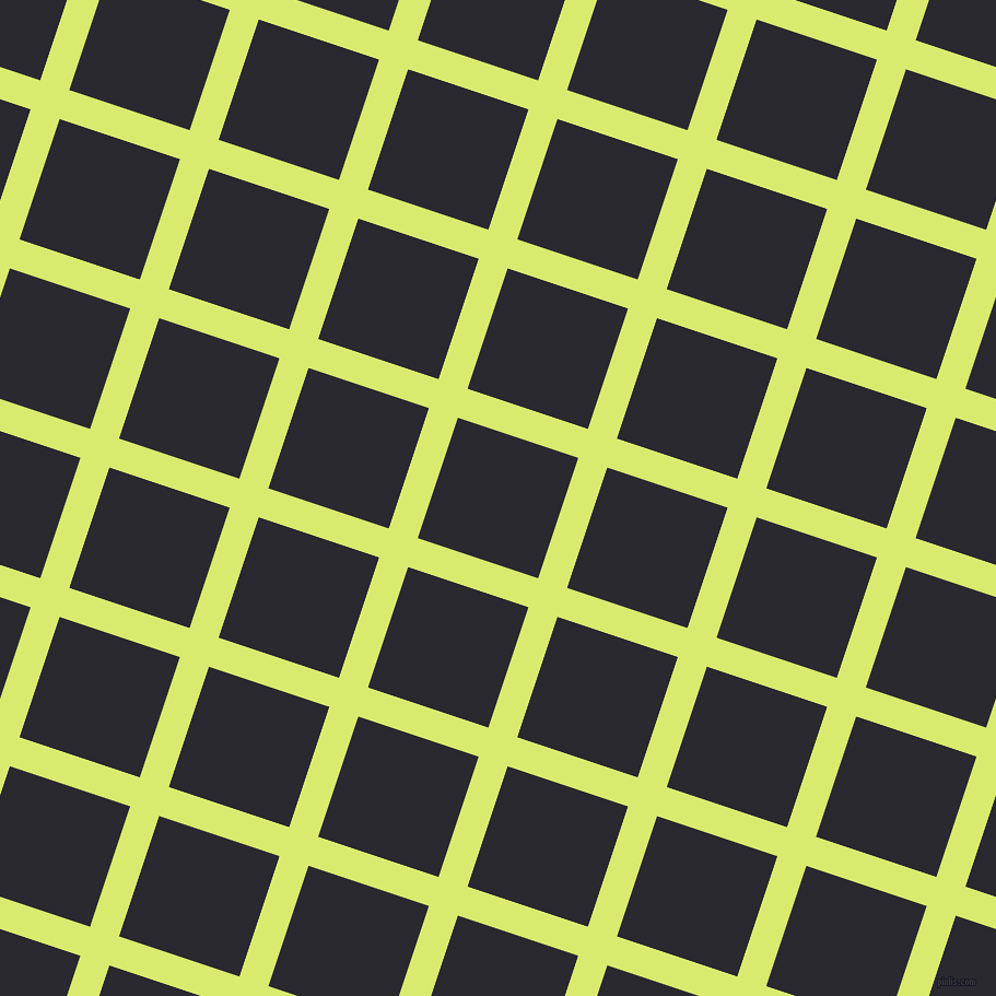 72/162 degree angle diagonal checkered chequered lines, 28 pixel line width, 116 pixel square size, Mindaro and Jaguar plaid checkered seamless tileable