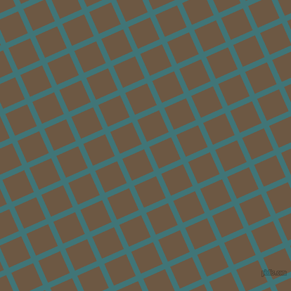 24/114 degree angle diagonal checkered chequered lines, 8 pixel line width, 34 pixel square size, Ming and Tobacco Brown plaid checkered seamless tileable