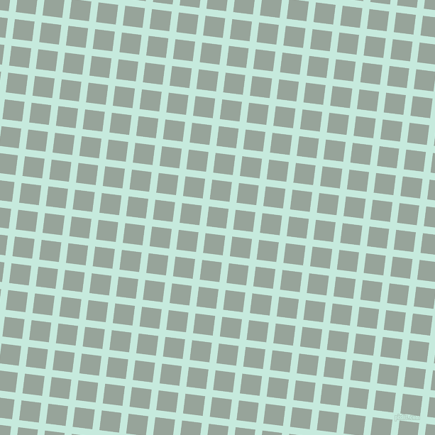 83/173 degree angle diagonal checkered chequered lines, 10 pixel lines width, 28 pixel square size, Mint Tulip and Edward plaid checkered seamless tileable