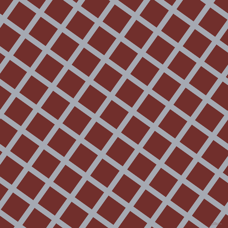 54/144 degree angle diagonal checkered chequered lines, 18 pixel line width, 69 pixel square size, Mischka and Auburn plaid checkered seamless tileable