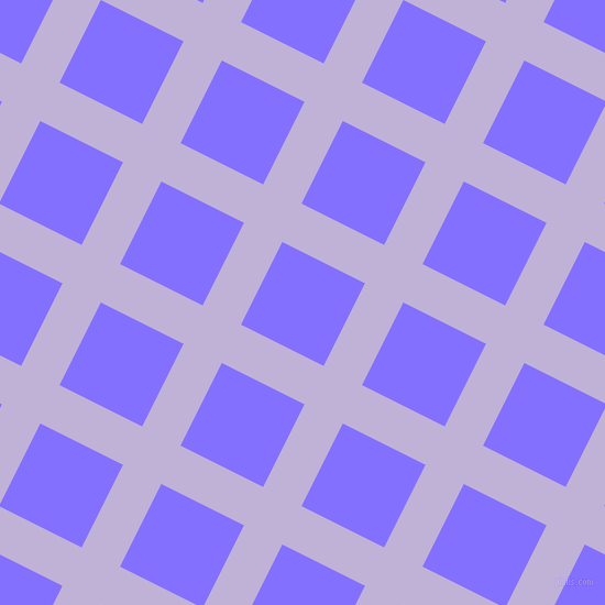 63/153 degree angle diagonal checkered chequered lines, 39 pixel lines width, 84 pixel square size, Moon Raker and Light Slate Blue plaid checkered seamless tileable
