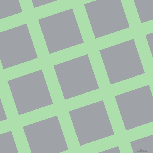 18/108 degree angle diagonal checkered chequered lines, 43 pixel lines width, 125 pixel square size, Moss Green and Grey Chateau plaid checkered seamless tileable