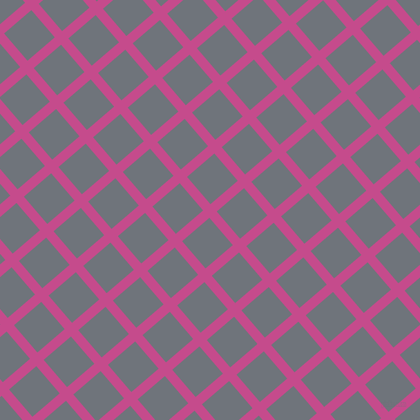 41/131 degree angle diagonal checkered chequered lines, 14 pixel lines width, 52 pixel square size, Mulberry and Raven plaid checkered seamless tileable