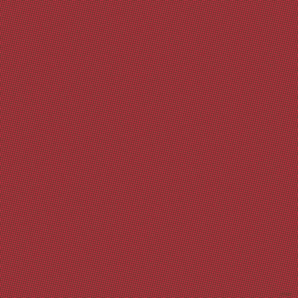 11/101 degree angle diagonal checkered chequered lines, 1 pixel lines width, 5 pixel square size, Myrtle and Brick Red plaid checkered seamless tileable