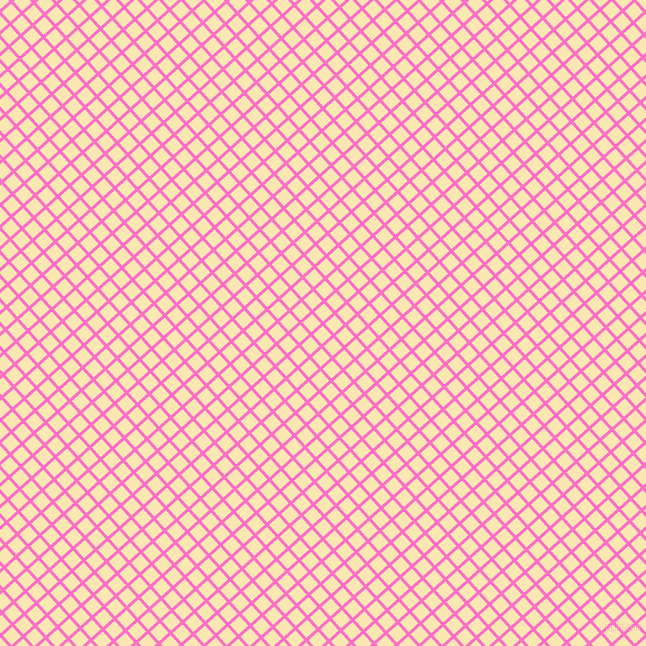 42/132 degree angle diagonal checkered chequered lines, 3 pixel line width, 13 pixel square size, Neon Pink and Banana Mania plaid checkered seamless tileable
