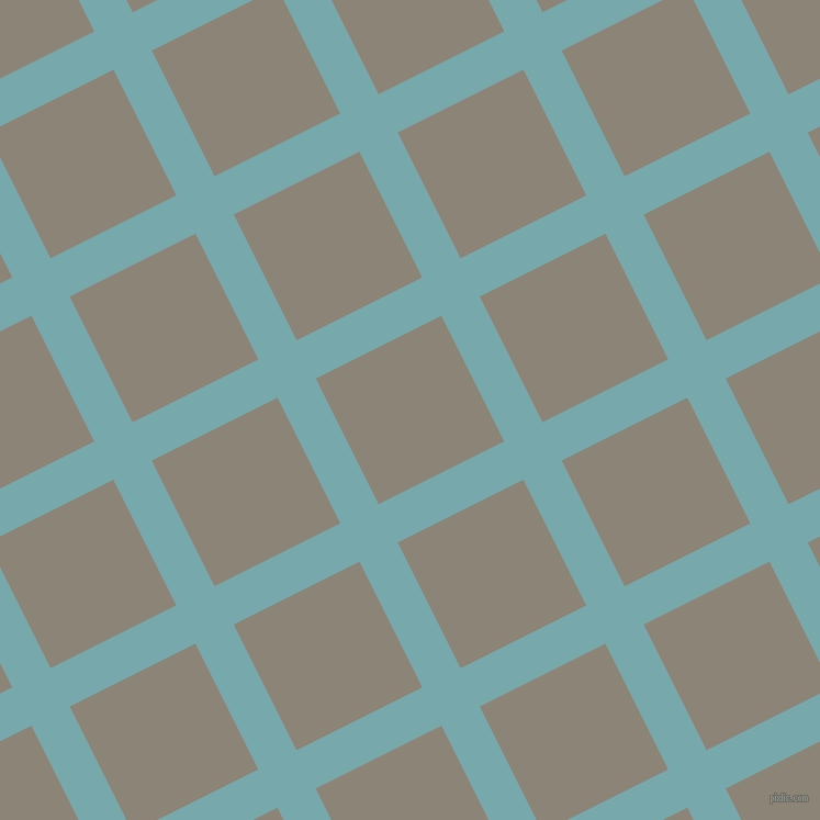 27/117 degree angle diagonal checkered chequered lines, 39 pixel lines width, 128 pixel square size, Neptune and Schooner plaid checkered seamless tileable