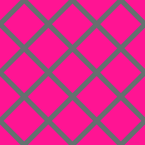 45/135 degree angle diagonal checkered chequered lines, 17 pixel line width, 98 pixel square size, Nevada and Deep Pink plaid checkered seamless tileable