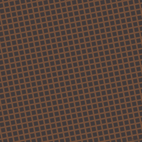 11/101 degree angle diagonal checkered chequered lines, 5 pixel lines width, 13 pixel square size, Old Copper and Eclipse plaid checkered seamless tileable