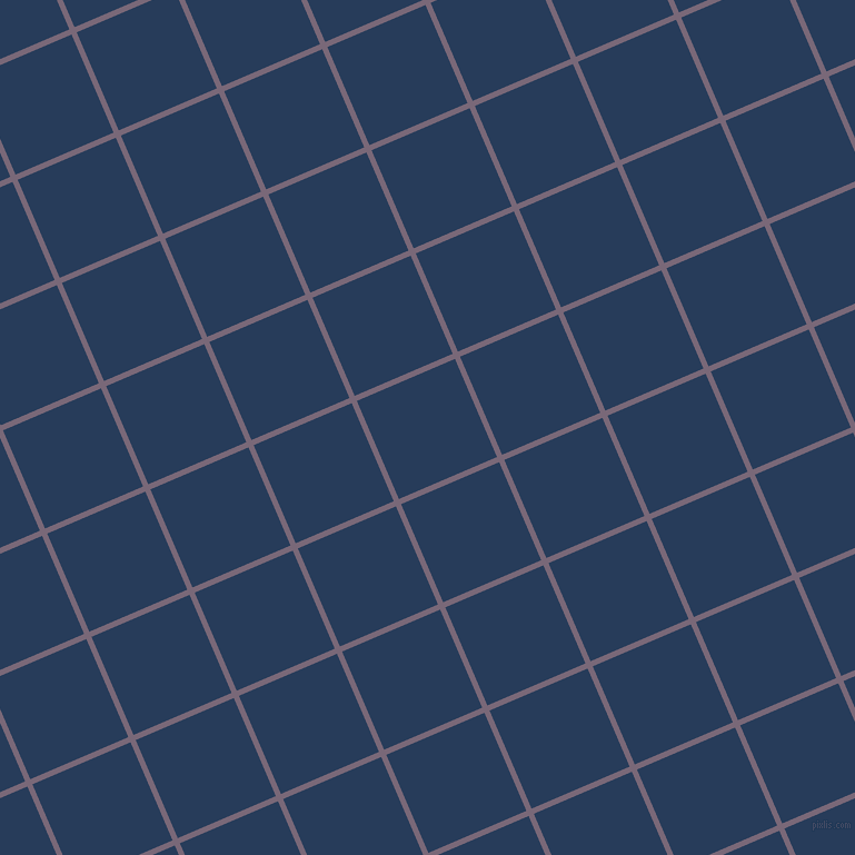 23/113 degree angle diagonal checkered chequered lines, 5 pixel lines width, 96 pixel square size, Old Lavender and Catalina Blue plaid checkered seamless tileable