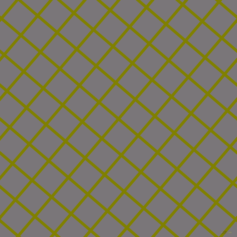 49/139 degree angle diagonal checkered chequered lines, 10 pixel line width, 78 pixel square size, Olive and Monsoon plaid checkered seamless tileable