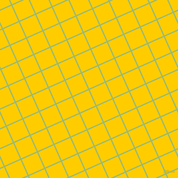 24/114 degree angle diagonal checkered chequered lines, 4 pixel lines width, 54 pixel square size, Olivine and Tangerine Yellow plaid checkered seamless tileable