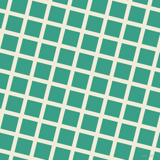 76/166 degree angle diagonal checkered chequered lines, 13 pixel line width, 49 pixel square size, Orchid White and Gossamer plaid checkered seamless tileable