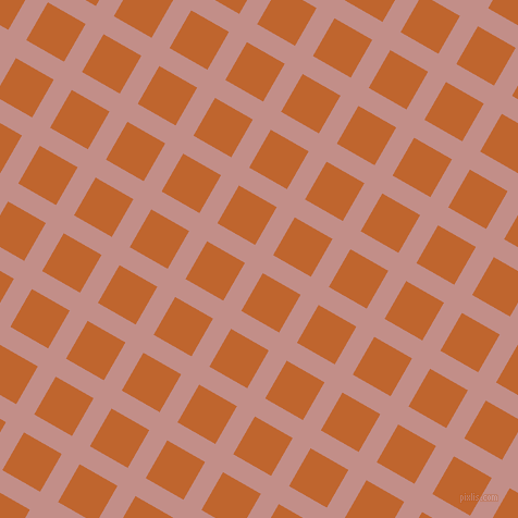 60/150 degree angle diagonal checkered chequered lines, 19 pixel lines width, 40 pixel square size, Oriental Pink and Christine plaid checkered seamless tileable