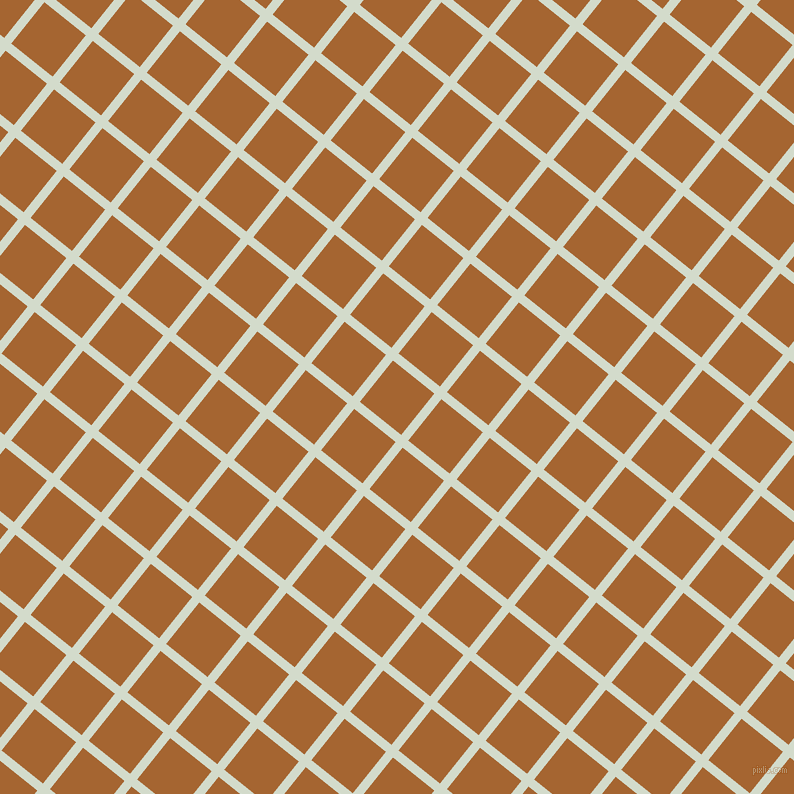 51/141 degree angle diagonal checkered chequered lines, 9 pixel lines width, 53 pixel square size, Ottoman and Mai Tai plaid checkered seamless tileable