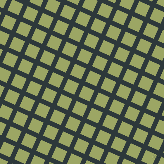 66/156 degree angle diagonal checkered chequered lines, 16 pixel line width, 41 pixel square size, Outer Space and Green Smoke plaid checkered seamless tileable