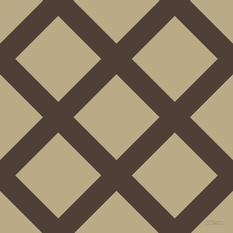 45/135 degree angle diagonal checkered chequered lines, 44 pixel line width, 124 pixel square size, Paco and Pavlova plaid checkered seamless tileable
