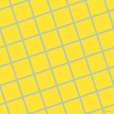 18/108 degree angle diagonal checkered chequered lines, 8 pixel line width, 69 pixel square size, Pale Leaf and Gorse plaid checkered seamless tileable