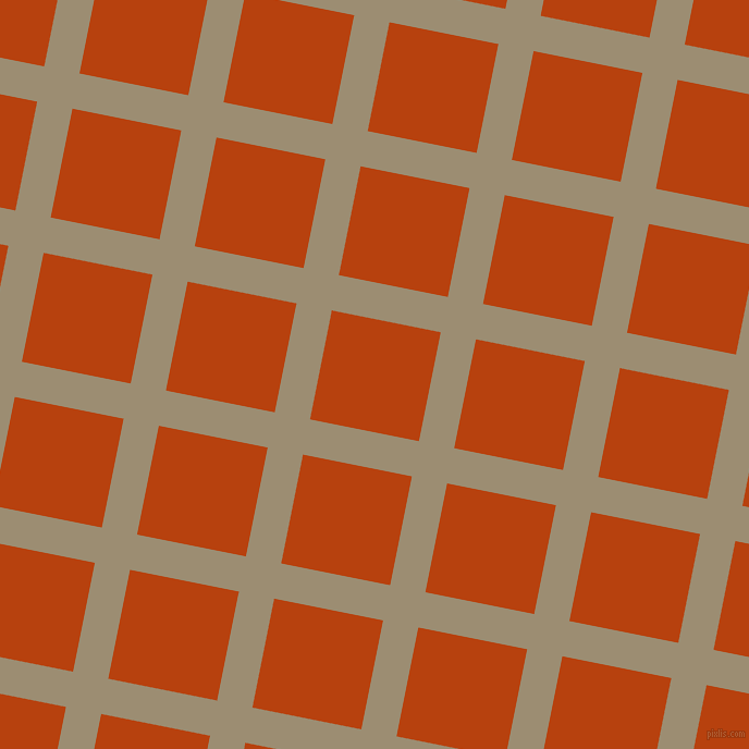 79/169 degree angle diagonal checkered chequered lines, 33 pixel lines width, 102 pixel square size, Pale Oyster and Rust plaid checkered seamless tileable