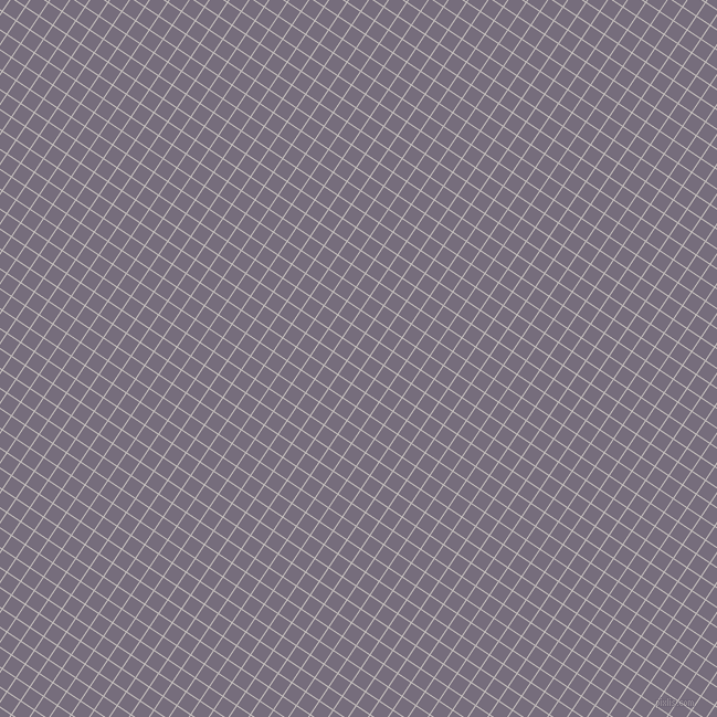 56/146 degree angle diagonal checkered chequered lines, 1 pixel lines width, 14 pixel square size, Pale Slate and Mamba plaid checkered seamless tileable