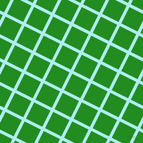 63/153 degree angle diagonal checkered chequered lines, 10 pixel lines width, 59 pixel square size, Pale Turquoise and Forest Green plaid checkered seamless tileable