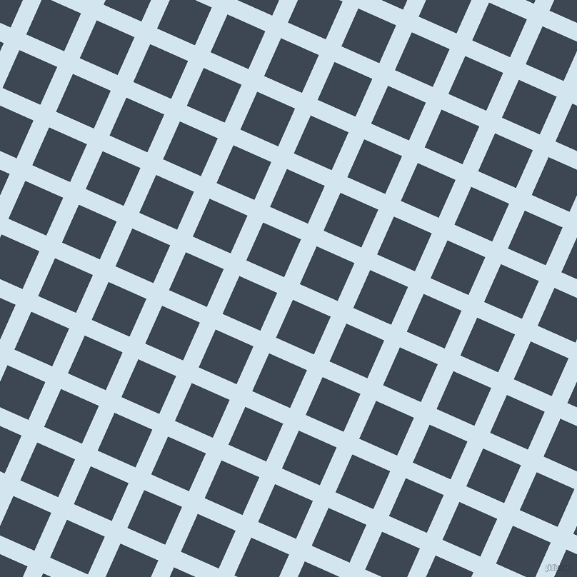 66/156 degree angle diagonal checkered chequered lines, 24 pixel line width, 58 pixel square size, Pattens Blue and Rhino plaid checkered seamless tileable