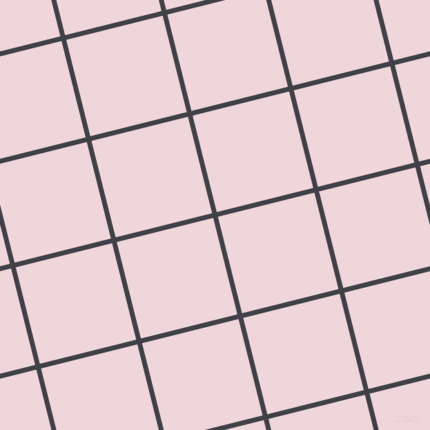 14/104 degree angle diagonal checkered chequered lines, 7 pixel line width, 144 pixel square size, Payne