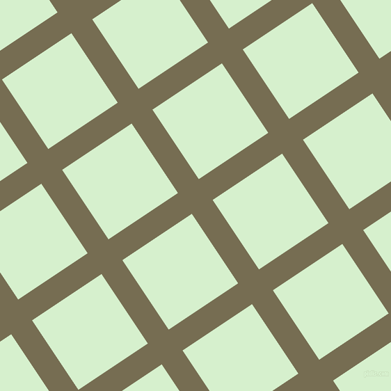 34/124 degree angle diagonal checkered chequered lines, 36 pixel line width, 120 pixel square size, Peat and Snowy Mint plaid checkered seamless tileable