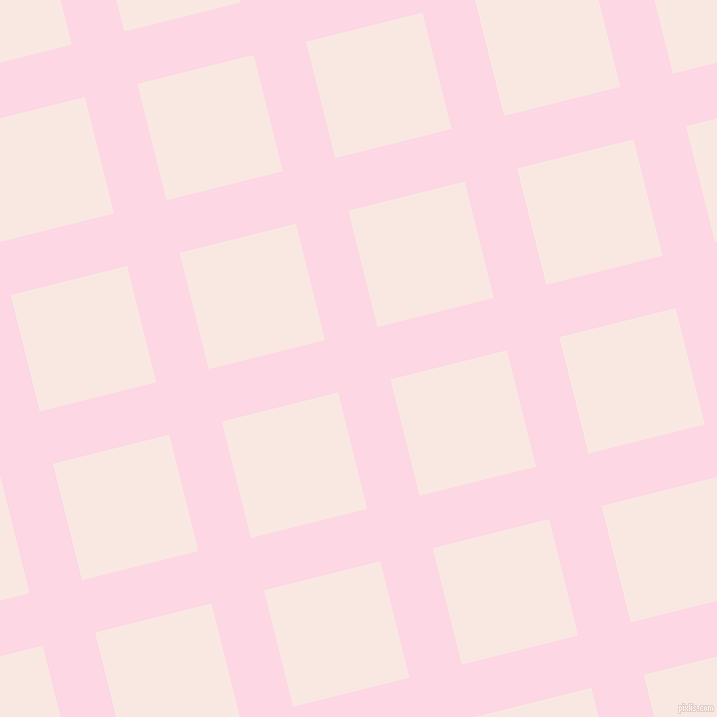 14/104 degree angle diagonal checkered chequered lines, 54 pixel lines width, 120 pixel square size, Pig Pink and Wisp Pink plaid checkered seamless tileable