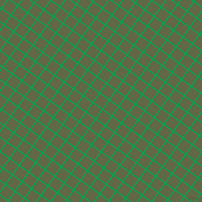 54/144 degree angle diagonal checkered chequered lines, 4 pixel lines width, 35 pixel square size, Pigment Green and Woodland plaid checkered seamless tileable