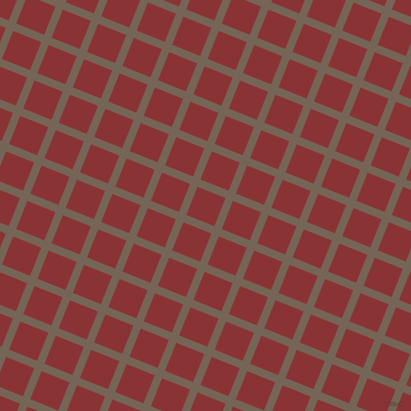 68/158 degree angle diagonal checkered chequered lines, 16 pixel lines width, 61 pixel square size, Pine Cone and Old Brick plaid checkered seamless tileable