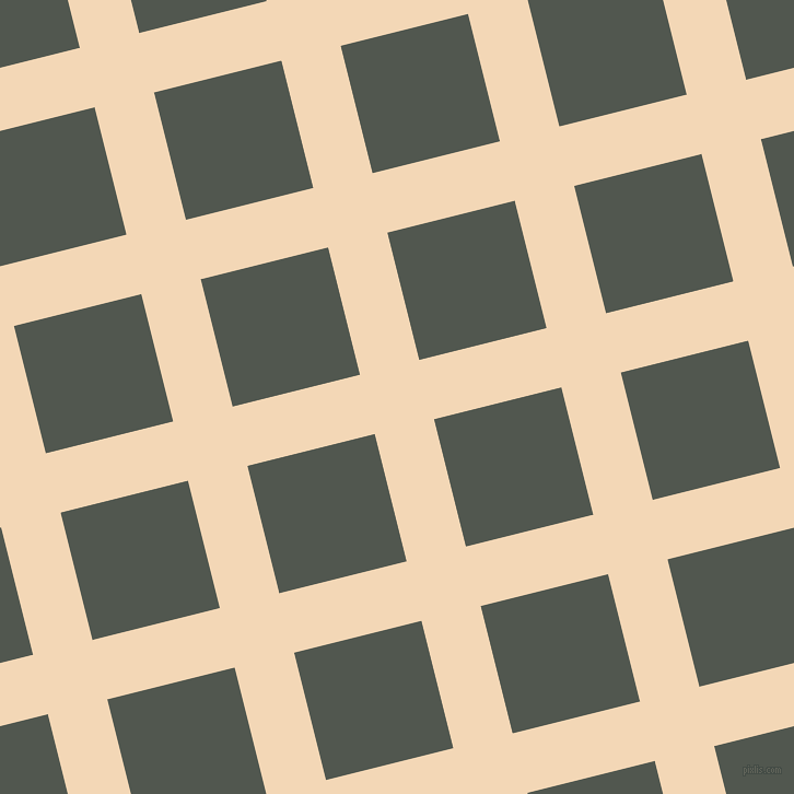 14/104 degree angle diagonal checkered chequered lines, 56 pixel lines width, 120 pixel square size, Pink Lady and Battleship Grey plaid checkered seamless tileable