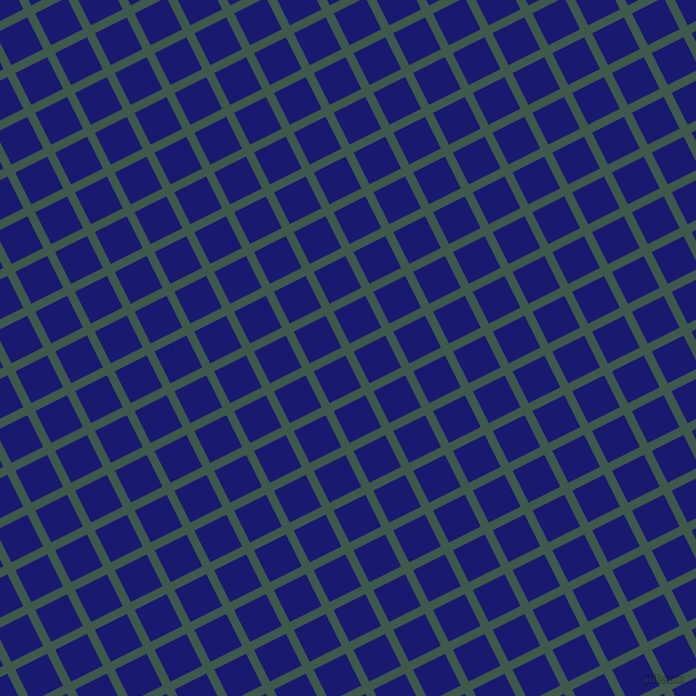 27/117 degree angle diagonal checkered chequered lines, 8 pixel line width, 32 pixel square size, Plantation and Midnight Blue plaid checkered seamless tileable