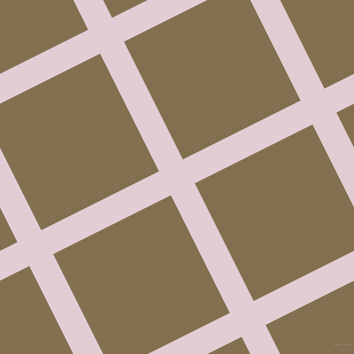 27/117 degree angle diagonal checkered chequered lines, 55 pixel line width, 271 pixel square size, Prim and Shadow plaid checkered seamless tileable