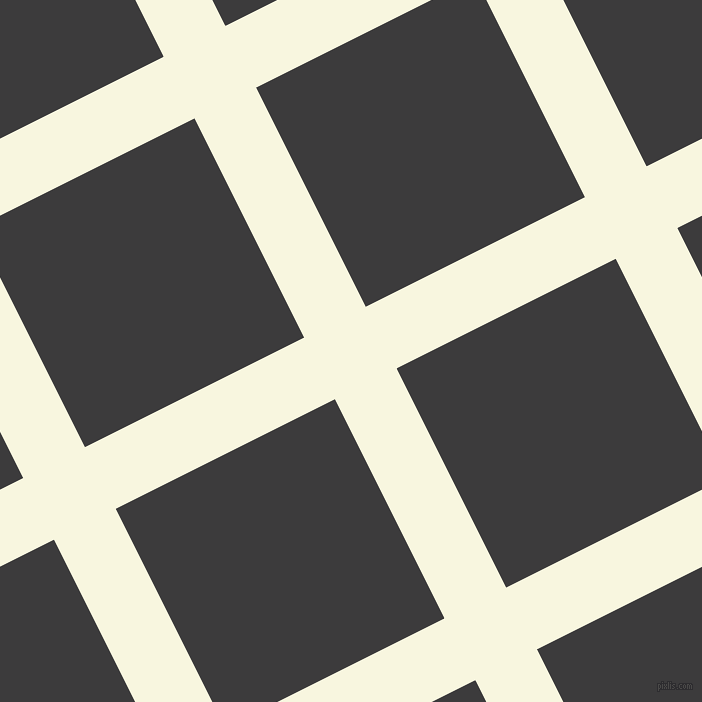 27/117 degree angle diagonal checkered chequered lines, 69 pixel lines width, 245 pixel square size, Promenade and Fuscous Grey plaid checkered seamless tileable