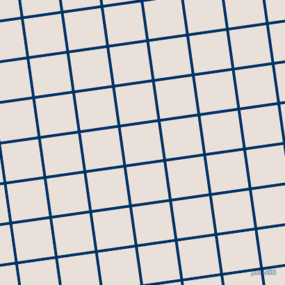 8/98 degree angle diagonal checkered chequered lines, 4 pixel lines width, 54 pixel square size, Prussian Blue and Spring Wood plaid checkered seamless tileable